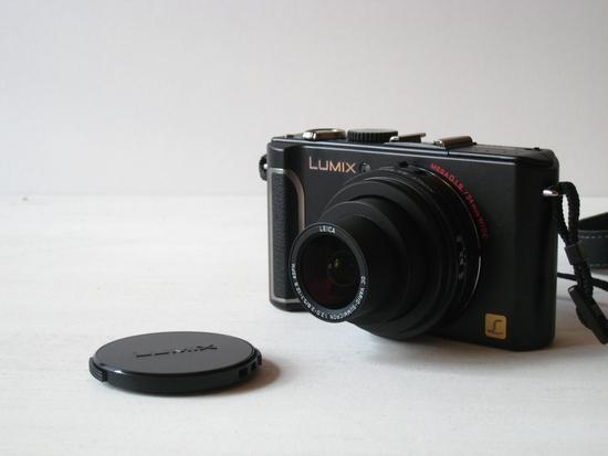 予想外のLUMIX LX3購入。