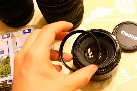 レンズ保護フィルターは重要です!