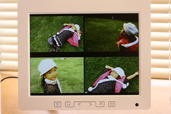 デジタルフォトフレーム使用感想「PFS-DT800W」で写真を見せる!