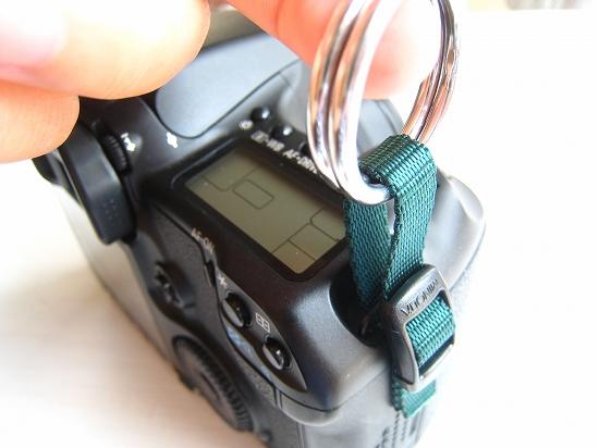 簡易版!デジタル一眼レフ用ストラップ接続部の作り方