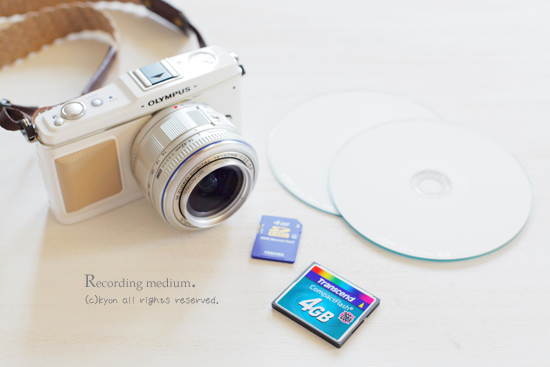 写真データは、パソコン&CD・DVDに保存を!