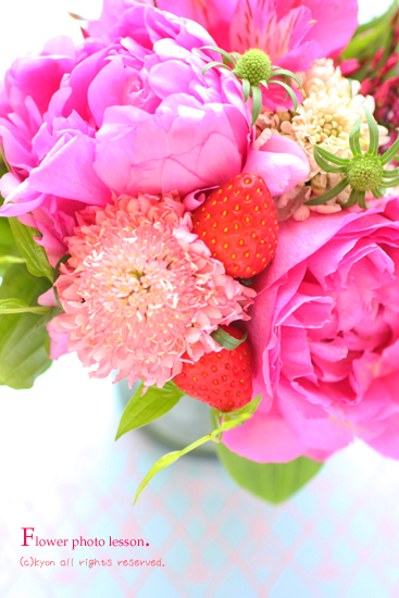 エコールプランタン「ゆるかわ写真術【パリテイストの花を撮る】」開催しました。