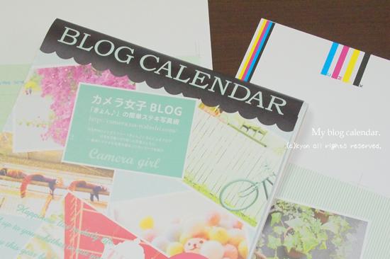 2012年「カメラ女子きょん♪」カレンダーが発売されます!!